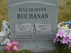 Beulah Deenie Buchanan