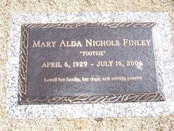 Mary Alda Tootsie <i>Nichols</i> Finley