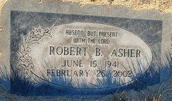 Dr Robert B. Asher