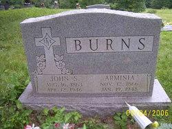 Arminia Minitie <i>Allen</i> Burns