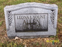 Leona L. <i>Yount</i> Allen