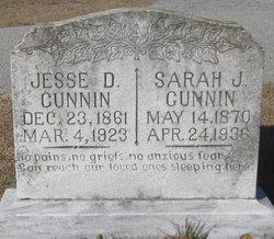 Sarah Jane <i>Bennett</i> Gunnin