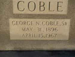 George Nelson Coble, Sr