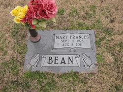 Mary Frances Fran Bean