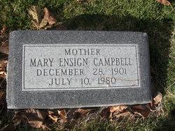 Mary <i>Ensign</i> Campbell