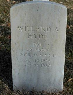 Willard A Hyde