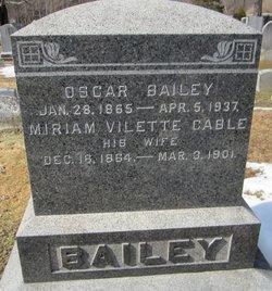 Miriam Vilette <i>Cable</i> Bailey