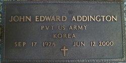 John Edward Addington