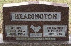 Frances A <i>Seim</i> Headington