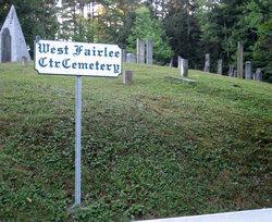 West Fairlee Center Cemetery