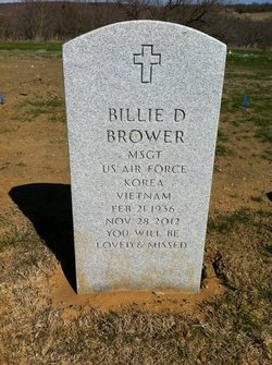 Billie D. Bill Brower