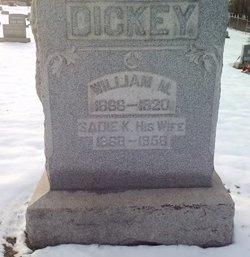 William M Dickey