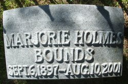 Marjorie <i>Holmes</i> Bounds