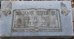 Benjamin Hester, Sr