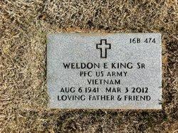 Weldon E King, Sr