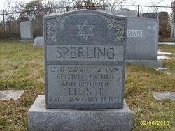 Ellis Sperling