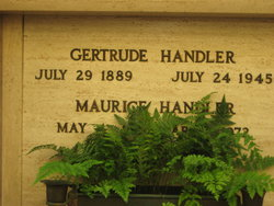 Gertrude Handler