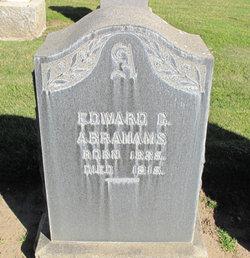 Edward C Abrahams