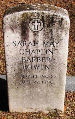 Sarah May <i>Chaplin</i> Bowen