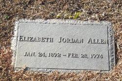 Elizabeth <i>Jordan</i> Allen