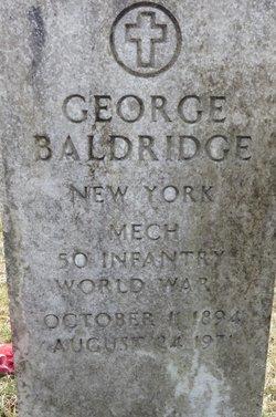 George Baldridge