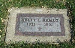Betty L Ramus (1921 - 2001) - Find A Grave Memorial