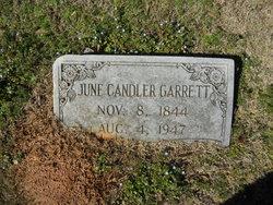 June Junie <i>Candler</i> Garrett