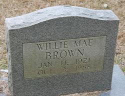 Willie Mae <i>Harrison</i> Brown