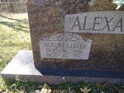 Albert Lister Alexander