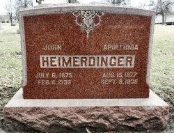 Appolonia Lona <i>Burk</i> Heimerdinger