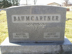 Martha <i>Falb</i> Baumgartner