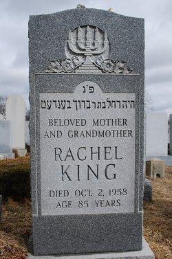 Rachel <i>Teff</i> King