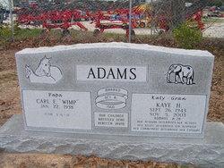 Kaye <i>Hall</i> Adams