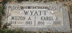 Carol Jean <i>White</i> Wyatt