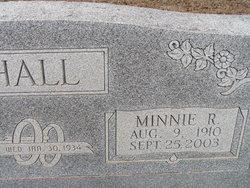 Minnie Rebecca <i>Shafer</i> Hall