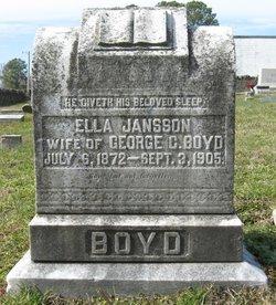 Ella <i>Jansson</i> Boyd
