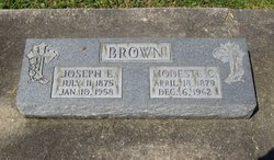 Modeste <i>Crow</i> Brown