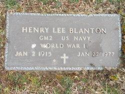 Henry Lee Blanton