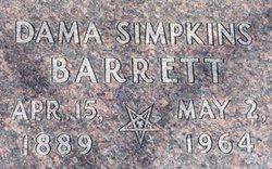 Didama Dama <i>Simpkins</i> Barrett