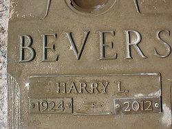 Harry Louis Bevers, Jr