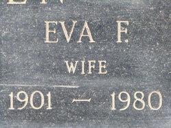 Eva F. <i>Bean</i> Alden