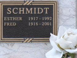 Esther <i>Schwindt</i> Schmidt