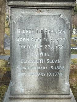 George D.F. Robinson