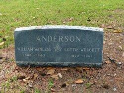 Lottie <i>Wolcott</i> Anderson