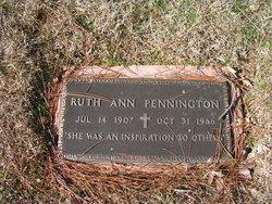 Ruth Ann Pennington