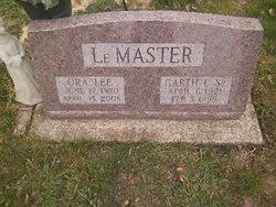 Ora Lee <i>Brady</i> LeMaster
