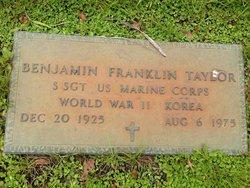 Benjamin Franklin Taylor