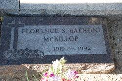 Florence <i>Barboni</i> McKillop