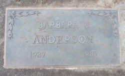 Barbara J Anderson