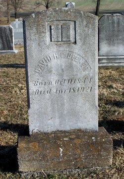 Rev David Henry Clay Deener